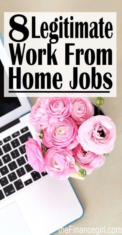 8 Legitimate Ways to Make Money From Home