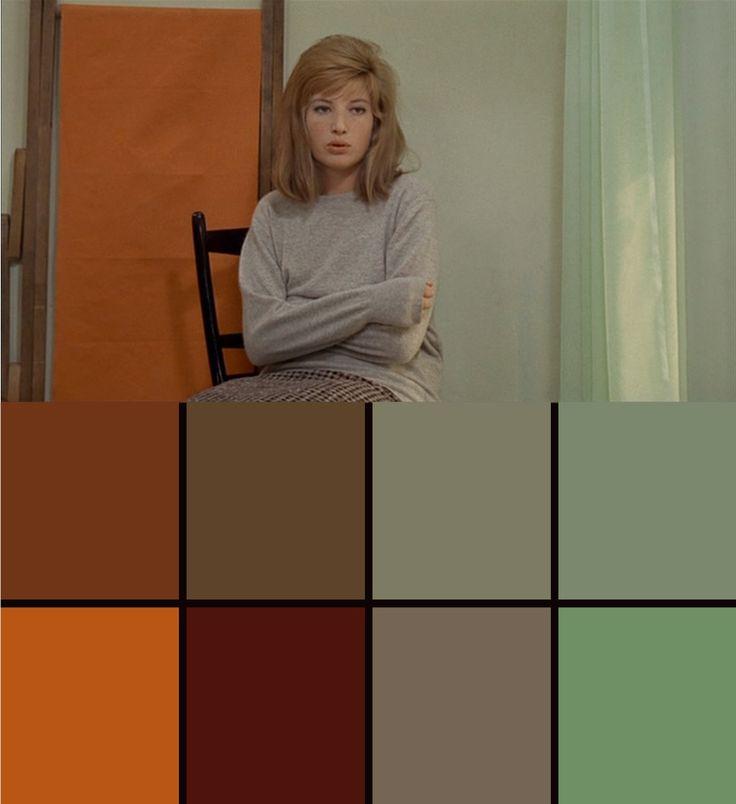"""Michelangelo Antonioni's """"Il Deserto Rosso"""" (""""Red Desert),"""" 1964."""