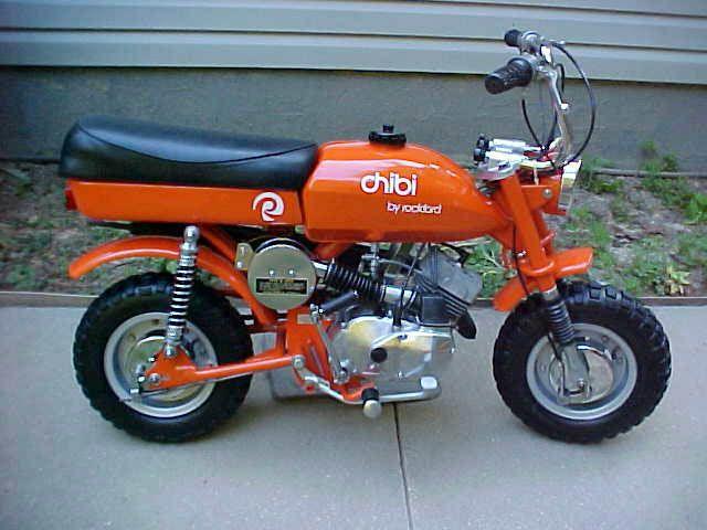 Ebay Motors Motorcycles >> Rockford Chibi   Vintage Mini Bikes   Motor scooters, Mini ...