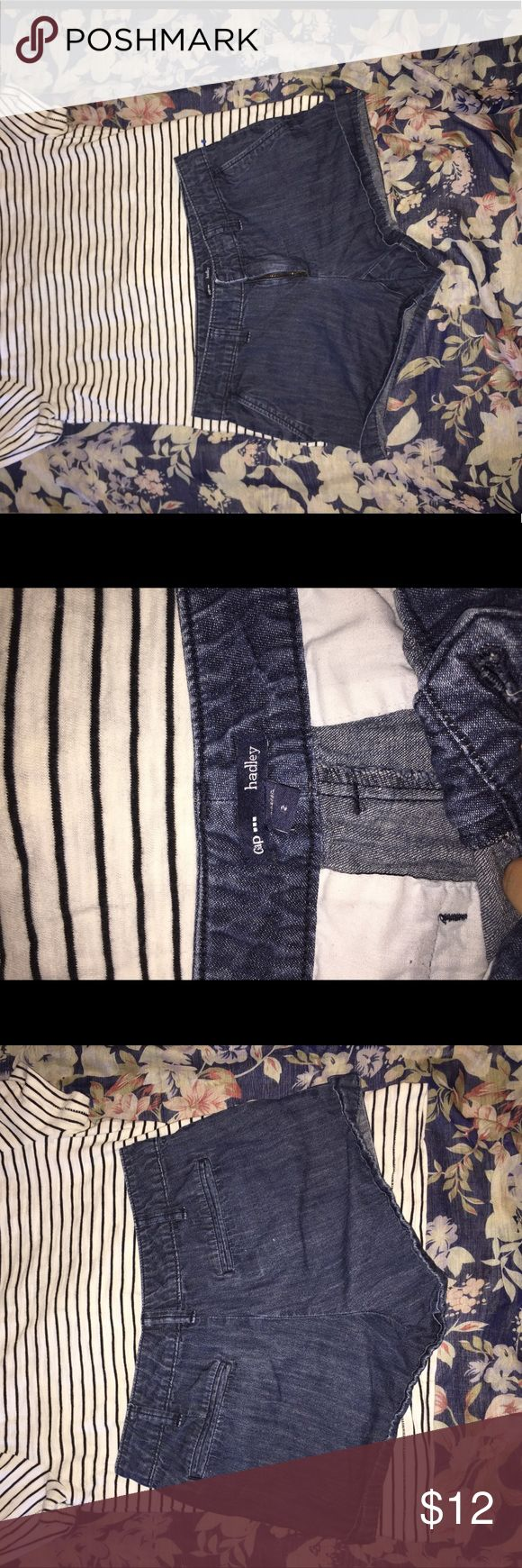 Size 2 gap Jean shorts Very cute and in great condition. No flaws. Bundle to save. GAP Shorts Jean Shorts