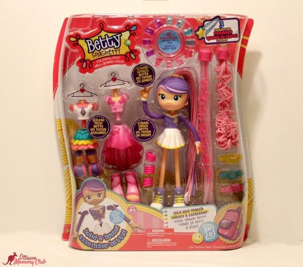 Have Fashionable Fun with Betty Spaghetty! #Giveaway #HolidayGiftGuide ~ CAN 12/9
