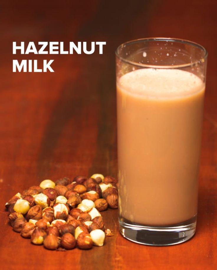 "4 ways to make nut ""milk"": Almond ""Milk"", Pistachio ""Milk"", Chocolate Hazelnut ""Milk"", Chocolate Pecan ""Milk"""