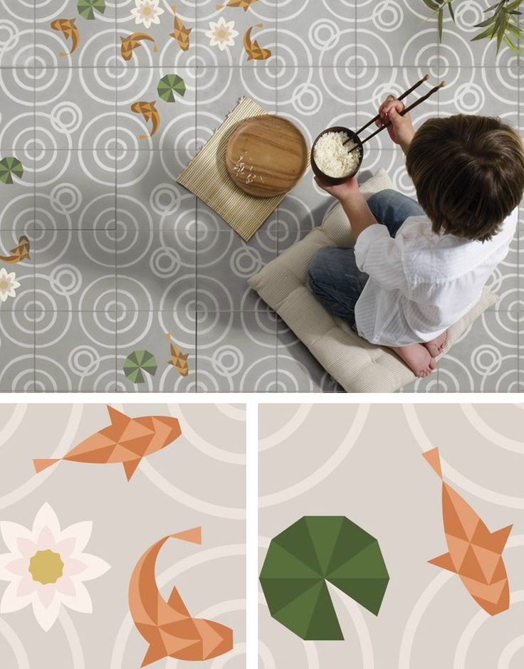 Cement #floor #tiles DROPS by Enticdesigns | #design MUT Design @enticdesigns