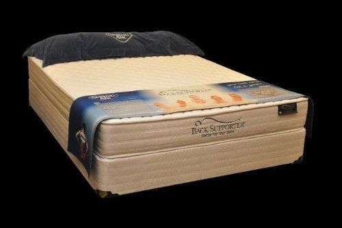 Spring Air 1920 50M Back Supporter MAX Bridgeport Queen Size Mattress by Spring Air. $918.00. Size: Queen.. Width: 59.. Type: Tight Top.Dimensions:. Collection: Bridgeport.. Length: 79.. Spring Air Back Supporter MAX Bridgeport Queen Size Mattress. Collection: Bridgeport. Size: Queen. Type: Tight Top. Dimensions:. Length: 79. Width: 59. Height: 12.75. Softness Level: 2. Foam Encased Wireless Edge with Three Zones of Support provides you with 20% more sleeping surfa...