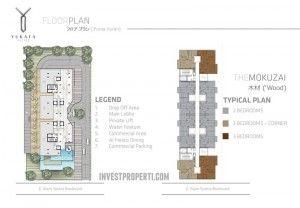 Floor Plan Yukata Alam Sutera