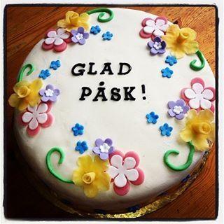 Glad påsk tårta 2013