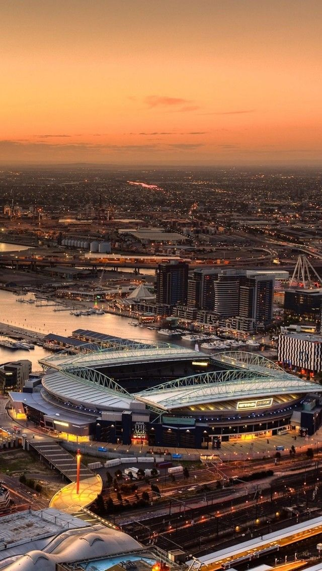 Etihad Stadium Melbourne  - Explore the World with Travel Nerd Nici, one Country at a Time. http://travelnerdnici.com