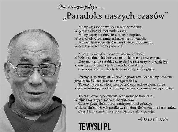Paradoks naszych czasów