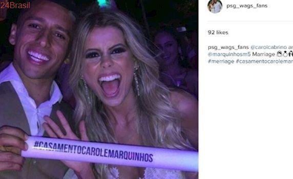 Gravou com cantor: Mulher do jogador Marquinhos vira cantora na França