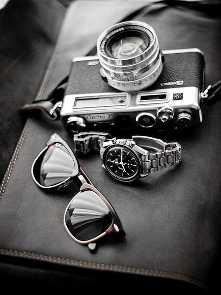 Retro: Rayban, Style, Men S Fashion, Watch, Camera, Mensfashion, Ray Ban, Accessories, Man