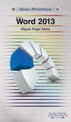 GENER-2014. Miguel Ángel Acera. Word 2013. 681.3Word