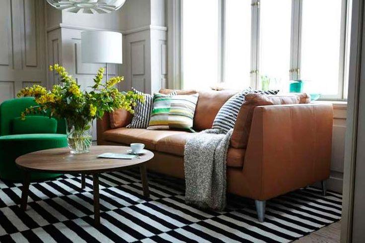 Los sof s de cuero en la decoraci n del hogar living for Blog decoracion hogar