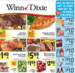 Winn Dixie Weekly Ad Coupon Match Up (7/30-8/05)
