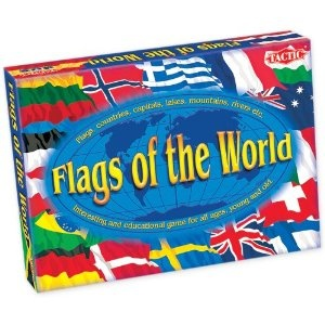 Flags Of The World Educational Game - for 8 years plus