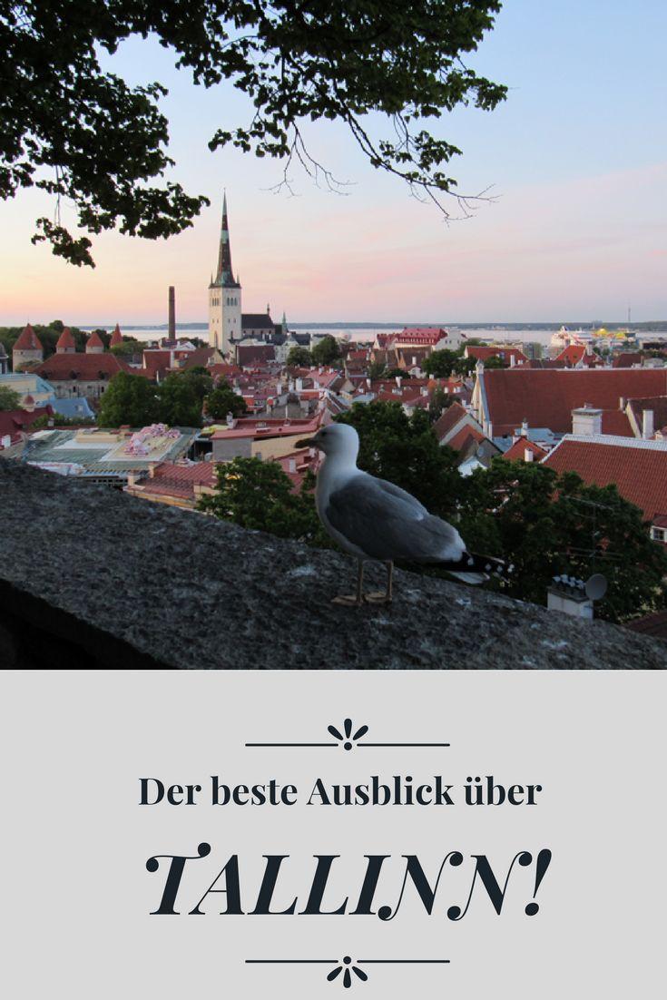 Ich verrate, wo es den besten Ausblick über Tallinn gibt und wo man traumhafte Sonnenuntergänge genießen kann.