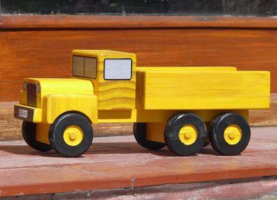 Mis juguetes en madera: Finalmente el plano de la Camioneta