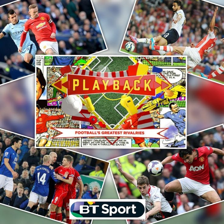 Check out these Football Rivalry Classics on BT Sport: PLAYBACK – Football's Greatest Rivalries: North London Derby, Manchester Derby, Red Rivalry & Merseyside Derby tidd.ly/d8f4572…