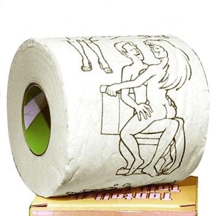 Poénos toalettpapír felnőttek részére. Legény és leánybúcsúk humoros, dekoratív kelléke lehet.