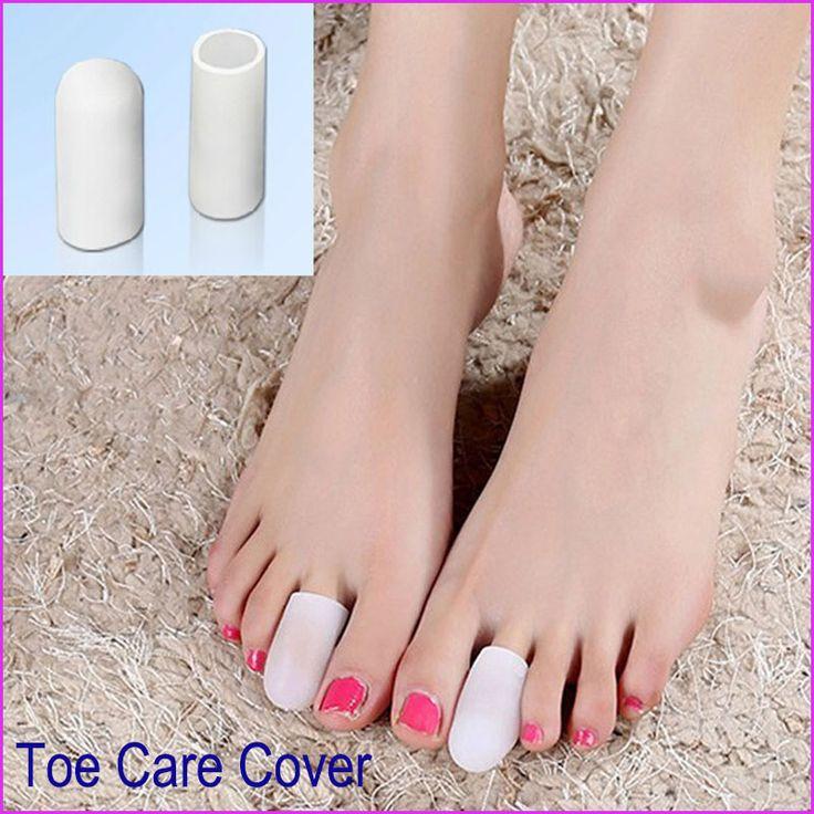 1 par 2 Pcs pés cuidados Silicone Gel Gel Toes Toe tubo joanete Protector calos calos Toe separador para mulheres homens Pedicure 2015 alishoppbrasil