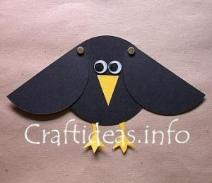 crow paper crafts - Google Search