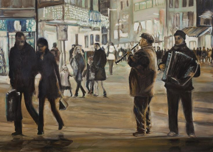 Buy Street Music, Oil painting by Liudmila Pisliakova on Artfinder. Discover thousands of other original paintings, prints, sculptures and photography from independent artists.