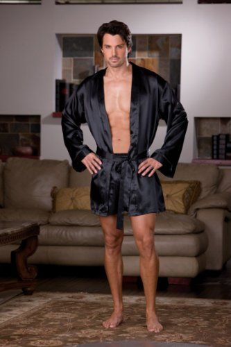 Mens Robes  - Pin it :-) Follow us .. CLICK IMAGE TWICE for our BEST PRICING ... SEE A LARGER SELECTION of Mens Robes at http://azgiftideas.com/product-category/mens-robes/ - men, gift ideas, mens wear -   Men's Shalimar Charmeuse « AZ Gift Ideas
