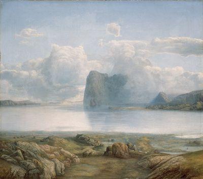 Lars Hertervig, «Borgøya»