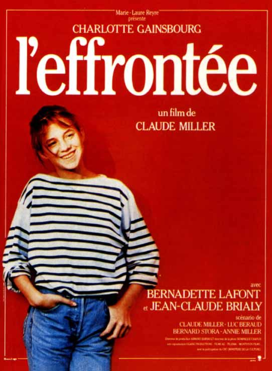 L'effrontée de Claude Miller, avec Charlotte Gainsbourg