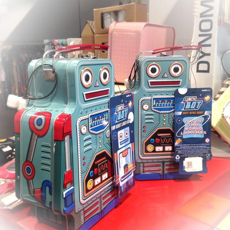Porta-comida Robot Retro | o2lifestyle