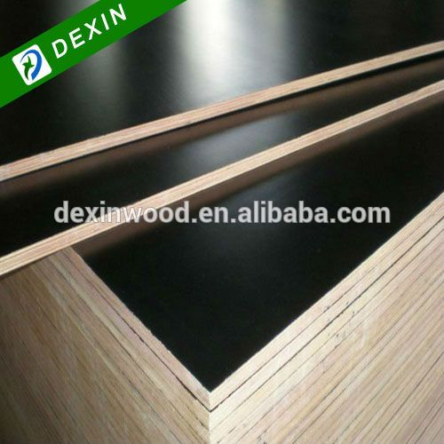 Black or Brown Color Marine Plywood Price and Sizes of 1220mm*2440mm and 1250mm*2500mm