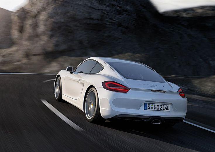 Foto Exteriores (1) Porsche Cayman Cupe 2012 Blanco White