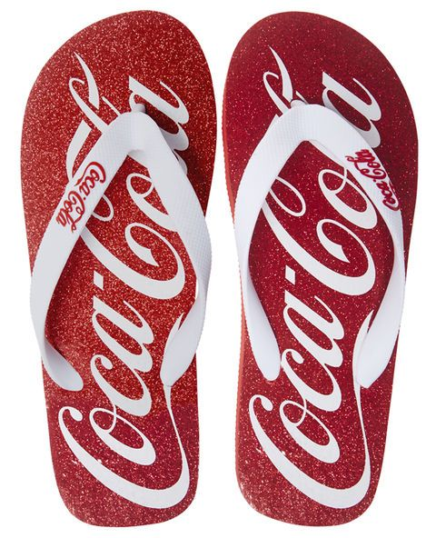 Branded flip flops for people to leave in if they've had a pedicure. A great opportunity for messaging too.