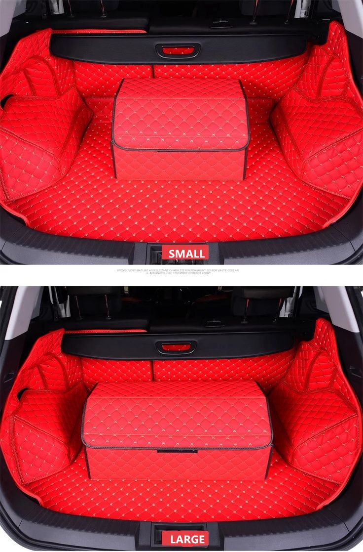 Car Trunk Organizer – Red