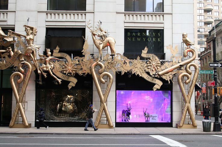 The Best Dressed Department Store Holiday Windows – Vogue Barneys New York