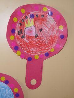 prinses spiegel knutselen - Google zoeken
