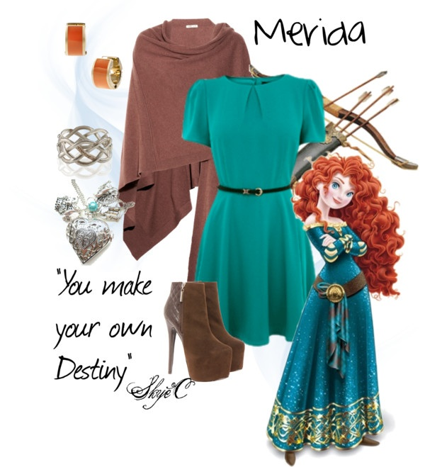 """Merida Inspired Outfit"" by rubytyra on Polyvore"