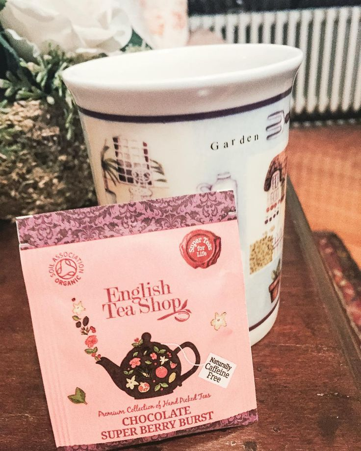 Chocolate Super Berry Burst #loveit  #teatime #sundaymood #englishteashop #athome #teatime