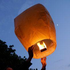 Lanterne Volante Mariage - Lanternes Volantes Chinoises - SkyLantern