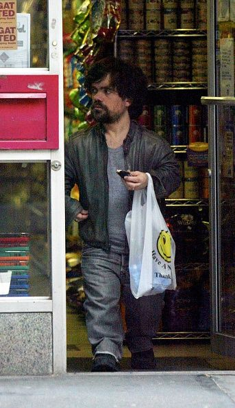 New York New York December 15 2008 The Chronicles of Narnia actor PETER DINKLAGE was spotted leaving 'Furry Paws' at the West Village NYC after...