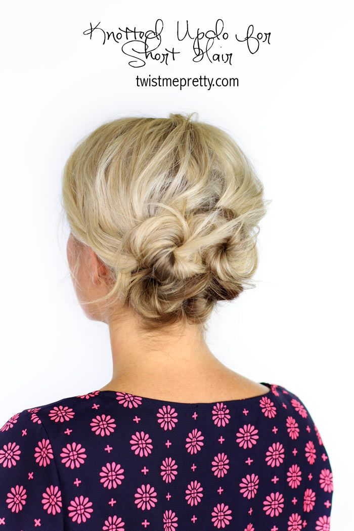 This hairstyle has it all.  5 minutes or less, check.  Works on short hair, check.  Perfect for holiday parties or glam events, check.  Come see the how-to at Twistmepretty.com