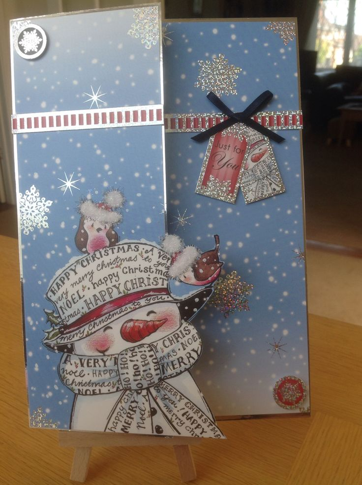 Hunkydory Christmas card