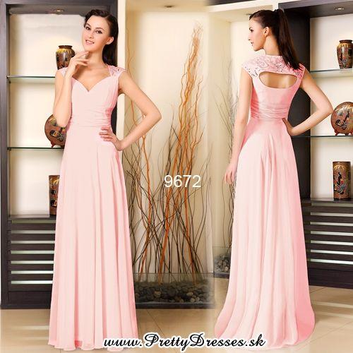 NOVÁ KOLEKCIA | Ružové večerné šaty | Spoločenské, koktejlové, večerné, plesové šaty - šaty na každú príležitosť - Ever Pretty