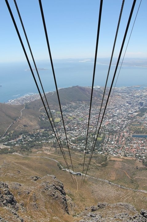 Definitely one of my favorite places!  Would love to go every trip!  Someday I would like to take the time to climb it but the views from the Cable Car are amazing too!    Table Mountain South Africa