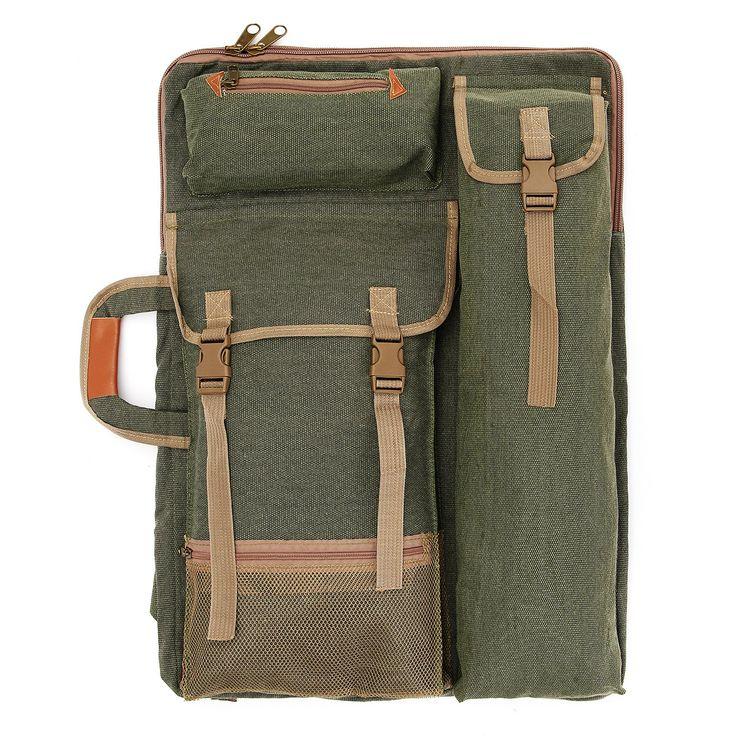 Multifunction 4K Canvas Drawing Sketch Board Case Painting Backpack Bag Travel Art Set School Supply
