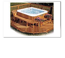 large outdoor spas - Google Search