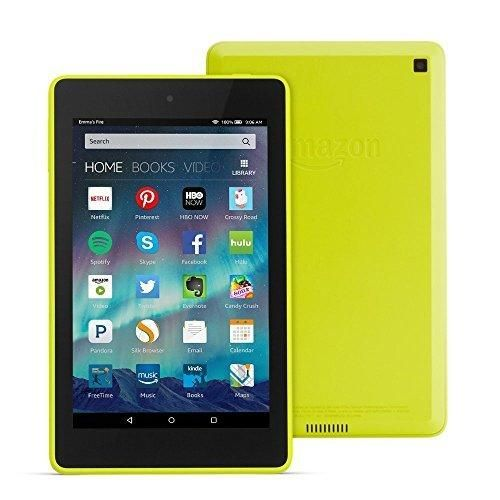 """Fire HD 6 Tablet 6"""" HD Display Wi-Fi 8 GB - Includes Special Offers Citron"""