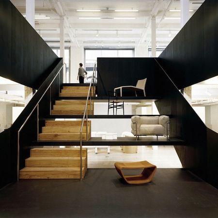 The Poltrona Frau showroom by Universal Design Studio