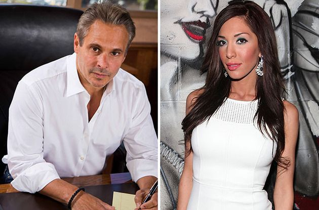 Steve Hirsch and Farrah Abraham: Farrah got her start in porn through Vivid.com CEO Steve Hirsch, and when she outgrew her britches (and lied, lied, lied about the her debut sex tape and her costar and a non-existent boyfriend), she began slamming the porn industry ... and the folks who paid for and marketed her second sex tape. D'oh! Looks like somebody's maybe not so smart (it's Farrah, guys. Always Farrah).