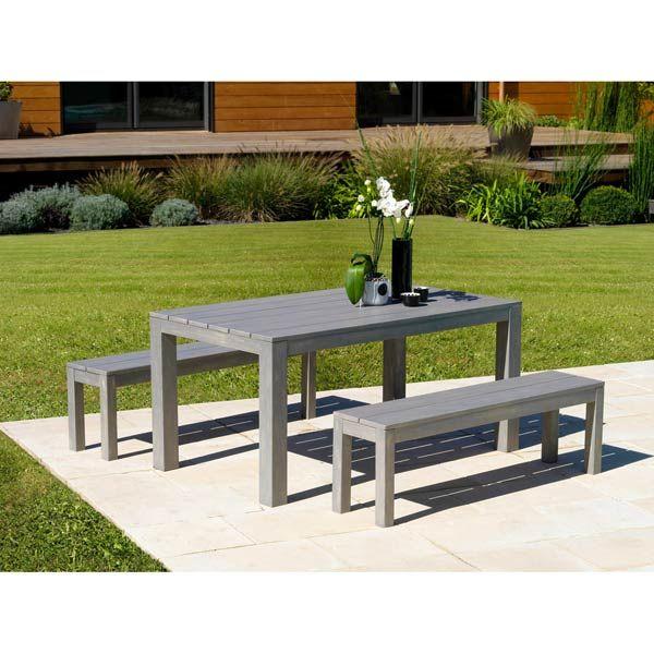 113 best images about du bois dans le jardin on pinterest outdoor play kitchen tables and - Table jardin eucalyptus colombes ...