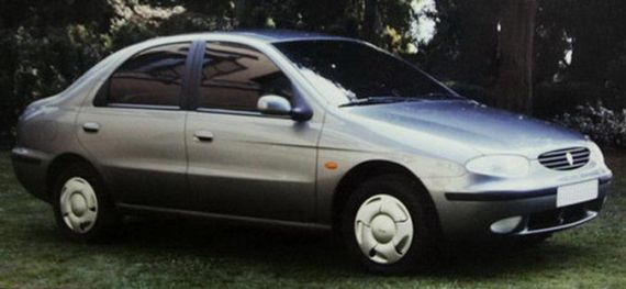 OG | Dacia Prototype designed by Idea, before the takeover by Renault.